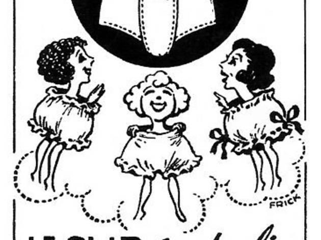 (Publicité pour le slip Kangourou, 1948 / Collection particulière ©DR)