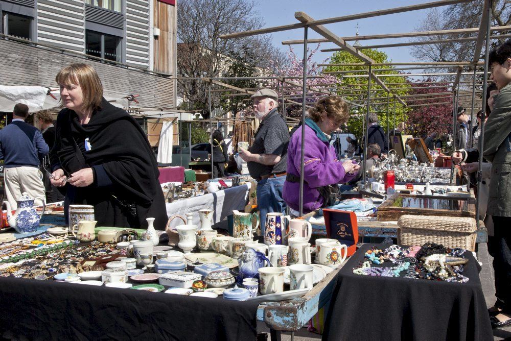 Forage for antiques on Bermondsey Square