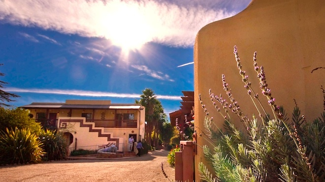 For a peaceful retreat: Blue Iguana Inn