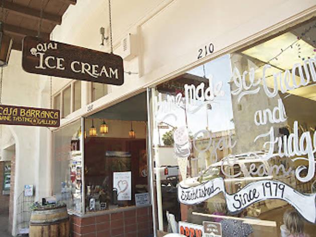 Ojai Ice Cream.