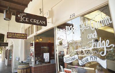 For a nostalgic bite: Ojai Ice Cream