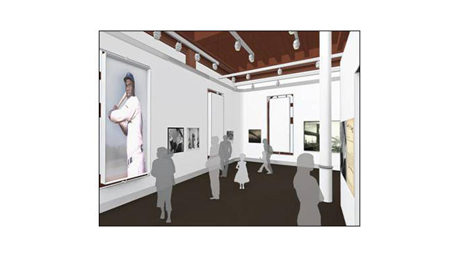 Rendering of new Shellens Gallery at the Brooklyn Historical Society