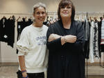 Isabel Marant with H&M creative advisor Margareta Van Den Bosch