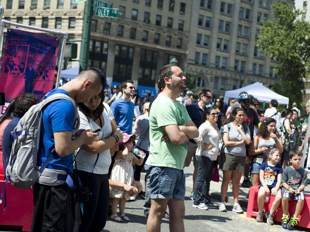 This year's Summer Streets lineup includes a 270-foot waterslide