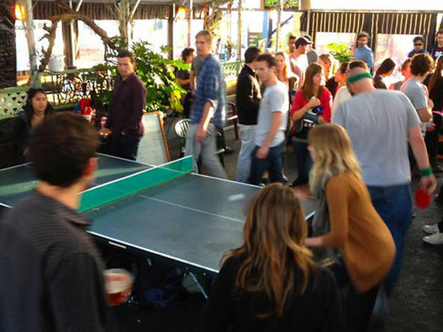 Berlin-style Ping-Pong