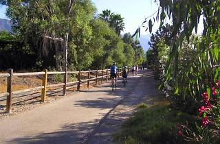 Ojai Valley bike trail