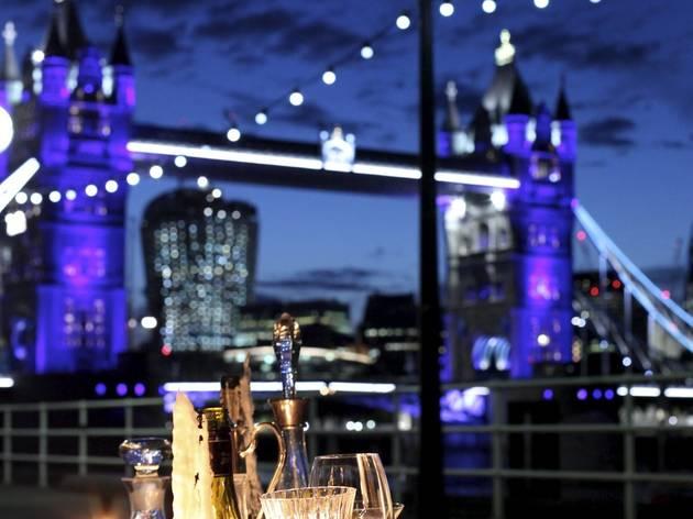 Thames Festival 2013: Butler's Wharf Blackout