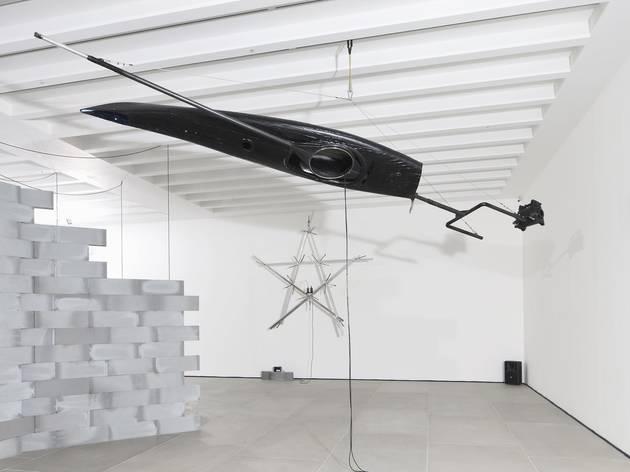 Gilberto Zorio (Exhibition view)