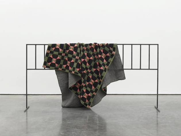 Open Cube ('Black Refract (quilt)' by Caitlin Yardley)