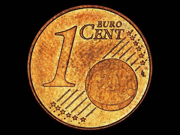 Open Cube ('The Fundamental Units (Euro)' by Martin John Callanan)