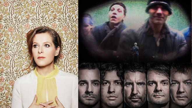 Things to do in New York this fall: six great live music shows: (from left) Neko Case, Massive Attack and Nine Inch Nails