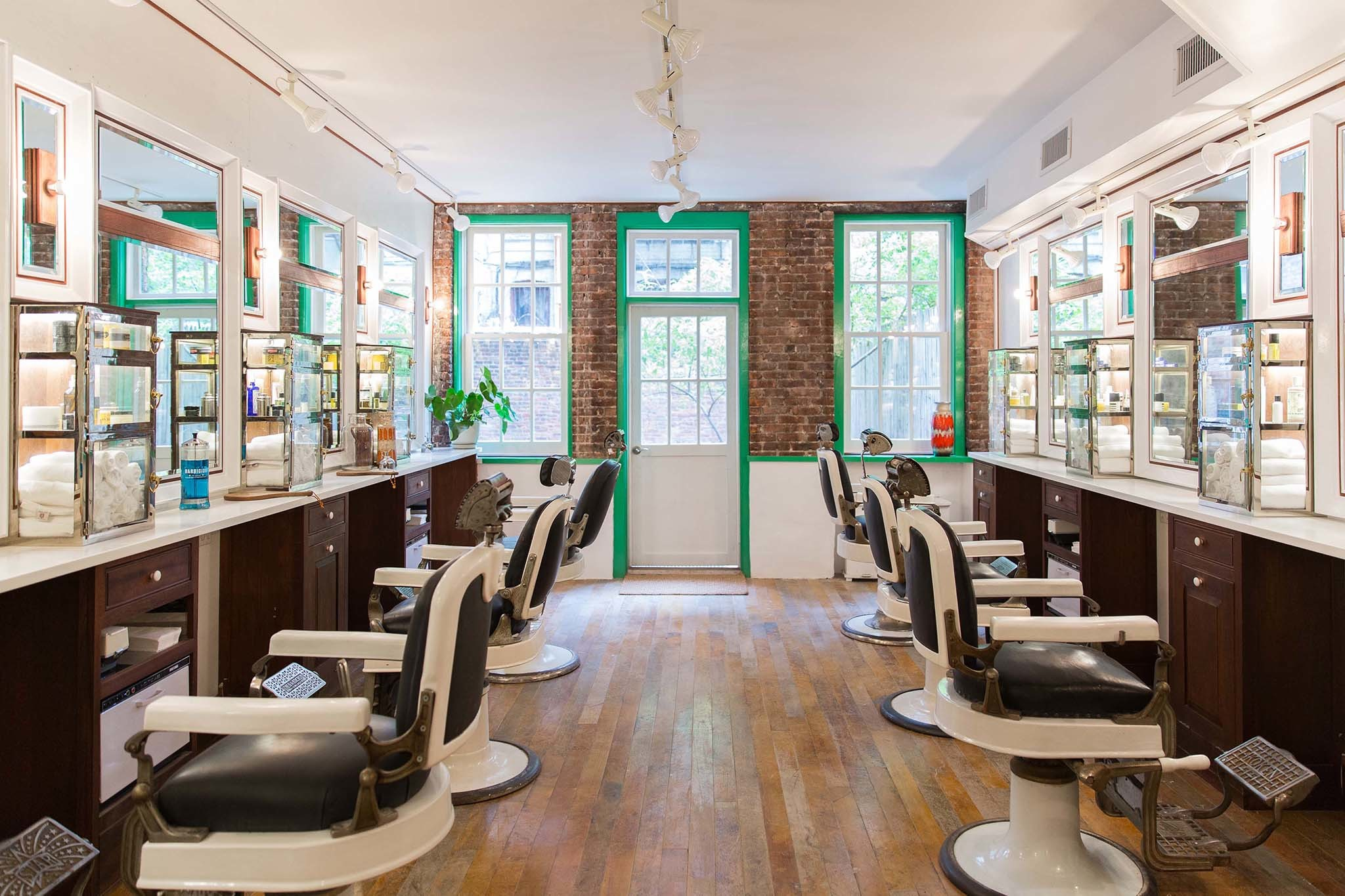Barber shops in NYC where you can a hot shave