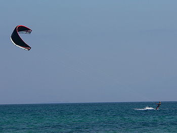 Kitesurf als Alfacs