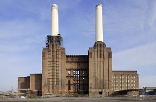 Battersea Power Station Abseil