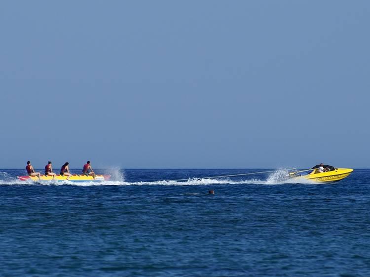 El 'Banana Boat' i el SUP
