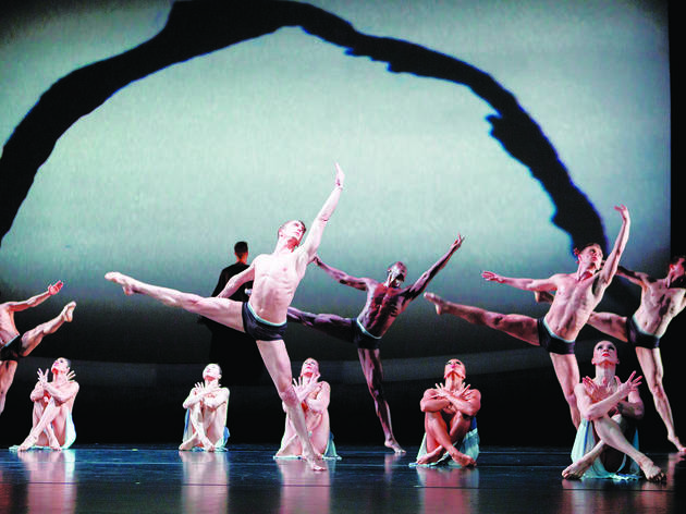 Martha Graham Dance Company performs The Rite of Spring