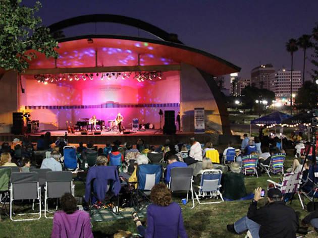 Levitt Pavilion concerts