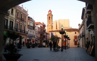 Plaça de la Vila de Calella