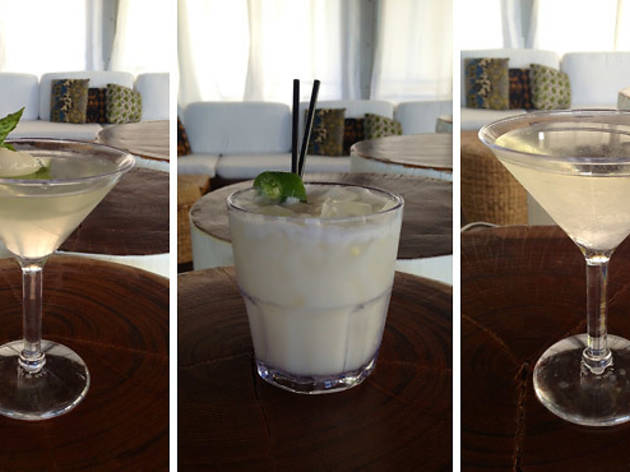 Bye Bye Summer, Fashionably White and Sail Away from Summer cocktails.