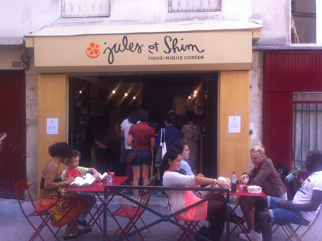 jules et shim restaurants in canal saint martin paris. Black Bedroom Furniture Sets. Home Design Ideas