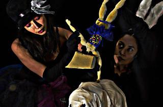 La mujer mago y su circo freak