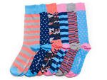 Nice Laundry Ladies Man socks, set of six for $39, at nicelaundry.com