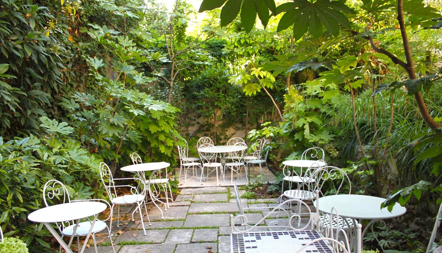 Guide des terrasses chauff es et couvertes time out paris for Restaurant ile de france avec jardin