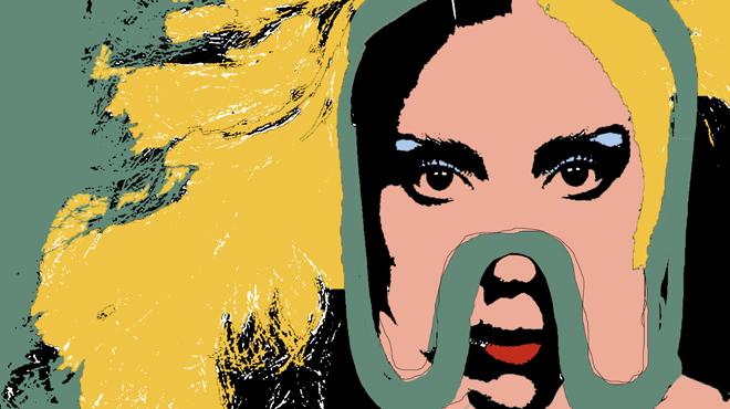 Lady Gaga, Warhol edit