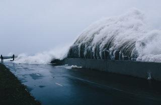 """Rising Waters: Photographs of Hurricane Sandy"""