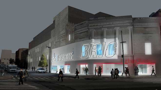 A rendering of the upcoming BRIC House