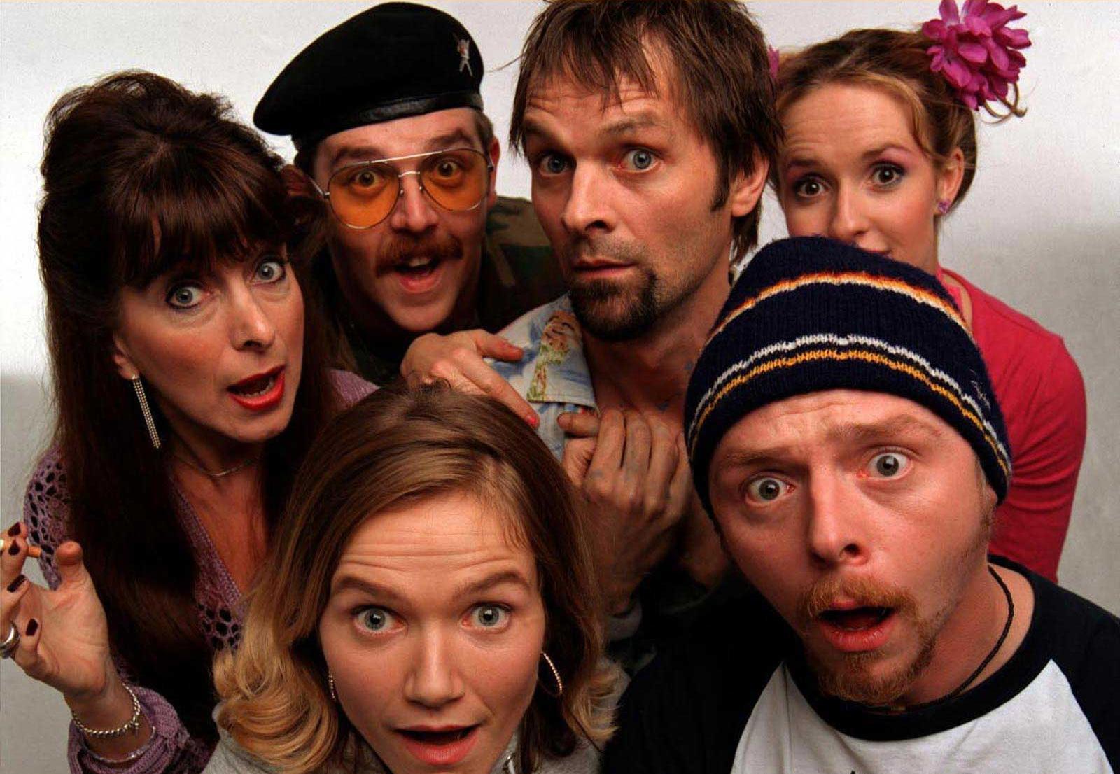 Les dix meilleures séries TV comiques 'Spaced'