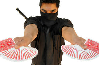 Javier the Card Ninja