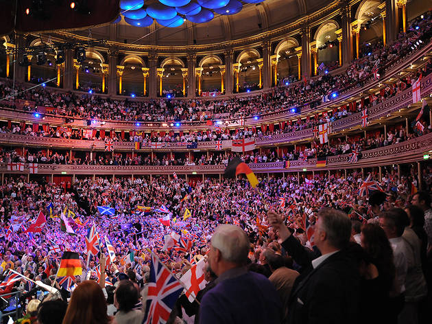 (Last night of the Proms)
