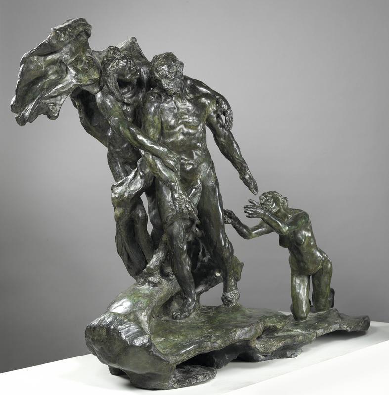 L'Âge mûr deuxième version, Camille Claudel / ADAGP, 1898, bronze, 121 x 180 x 73 cm