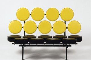 George Nelson Associates, Inc. (Marshmallow, sofa, 1956)