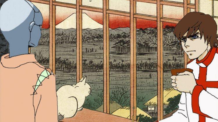 David Blandy (Anjin 1600: Edo Wonderpark)