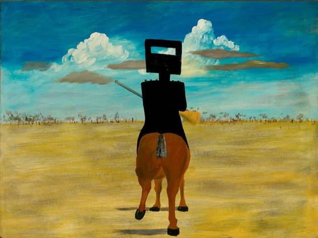 Sidney Nolan  (Ned Kelly,1946 )
