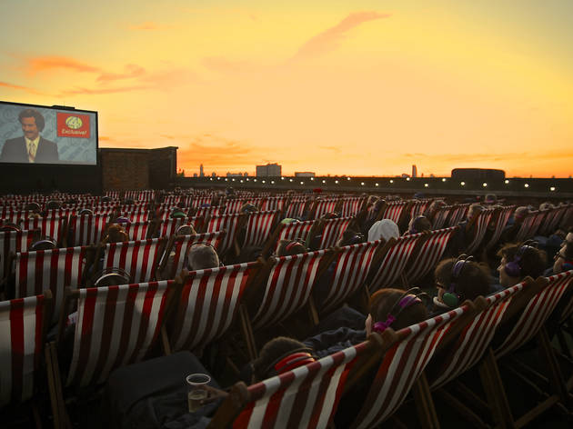 Rooftop Film Club, Bussey Building