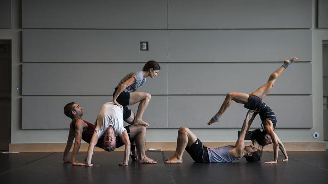 Dusan Tynek Dance Theatre performs at the BAM Fisher