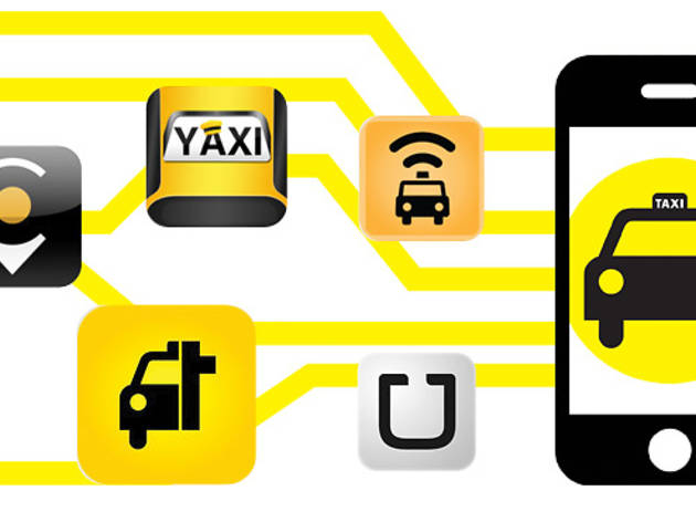 Top 5. Apps de taxis