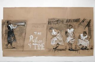 "William Kentridge, ""Second-Hand Reading"""