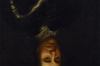 Oliver Cromwell  ((hung upside down))
