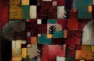 Paul Klee ('Redgreen and Violet-Yellow Rhythms', 1920)