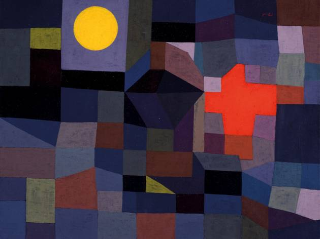Paul Klee ('Fire at Full Moon', 1933)