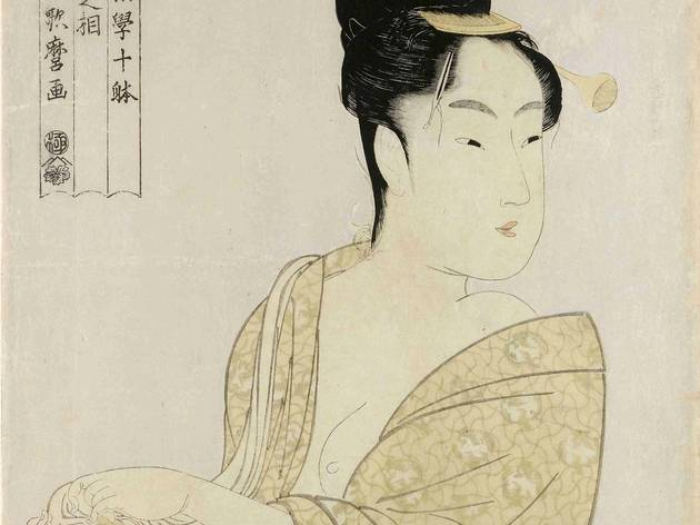 Kitagawa Utamaro ('Fancy free type (Uwaki no so), from the series Ten Types in the Physiognomic Study of Women (Fujin sogaku juttai)', c1792-3 )