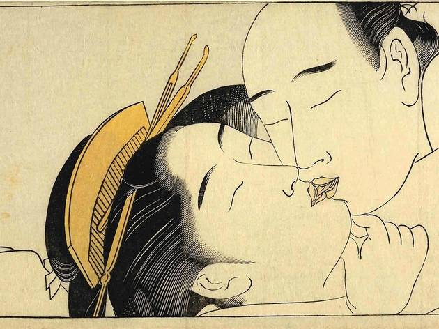 Torii Kiyonaga ('Detail taken from Sode no maki (Handscroll for the Sleeve)', c1785)