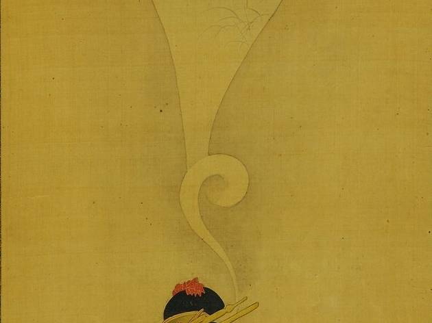 Chobunsai Eishi  ('Young woman dreaming of Ise Monogatari', c early nineteenth century)