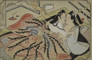 Sugimura Jihei (Untitled erotic picture, mid-1680s)