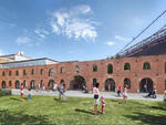 Rendering of the new St. Ann's Warehouse in the Tobacco Warehouse