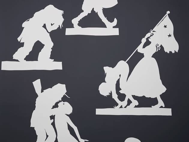 Kara Walker (Wall Sampler 1, 2013)